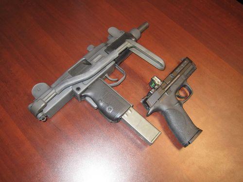 The Mini Uzi Semi Auto Pistol Caliber Carbine