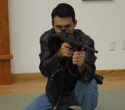 Kneeling on trigger