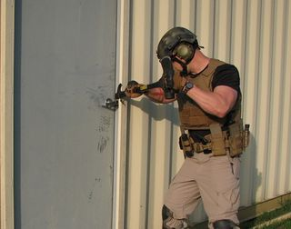 Breaching cover