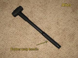 Hammer after