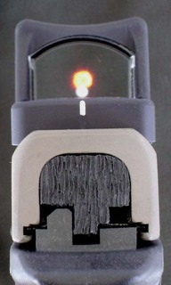Red dot rear view