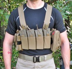 Chest rig wear